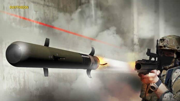 'Pike' is a handheld, powerful, and precision-guided weapon