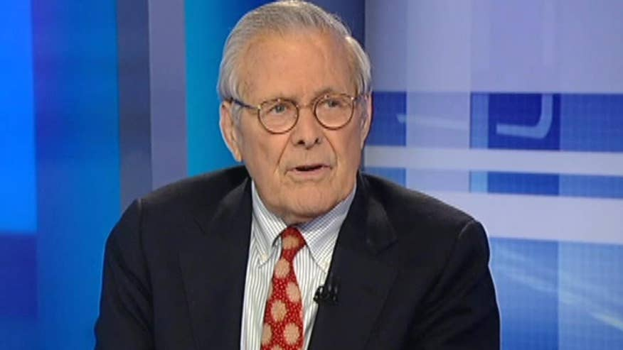 Former Defense Secretary Donald Rumsfeld tells 'On the Record' why he is supporting Trump in the November presidential election and what he thinks of his plan to defeat ISIS and more.