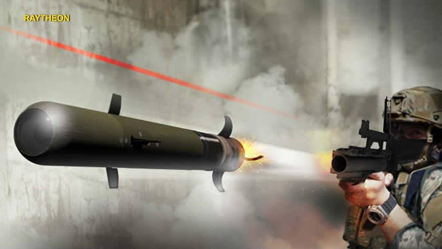 Tech Take: Allison Barrie on Raytheon's new weapon that will give ground troops precision firepower at more than six times the range of some RPGs