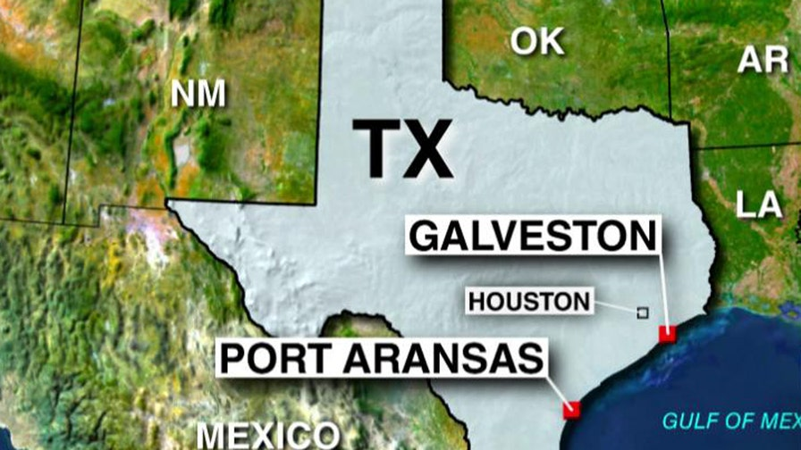 Twelve Galveston County, Texas beaches under advisory for elevated bacteria levels; Casey Stegall reports from Dallas