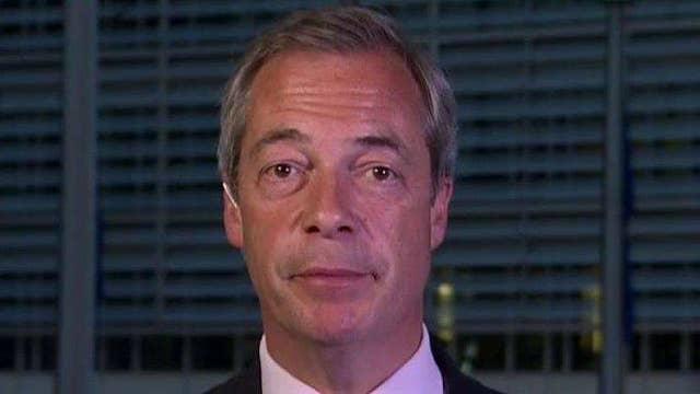 Nigel Farage: 'Rubbish' to blame Brexit for stock losses