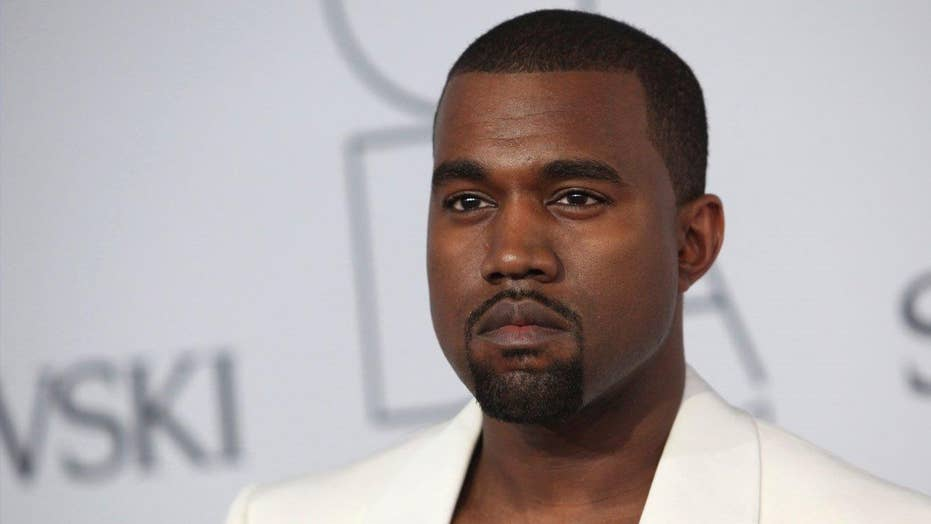 Kanye West's risque nude vid