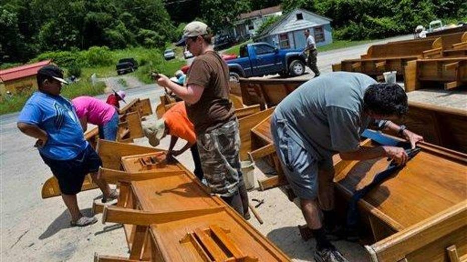 West Virginia braces for massive flooding