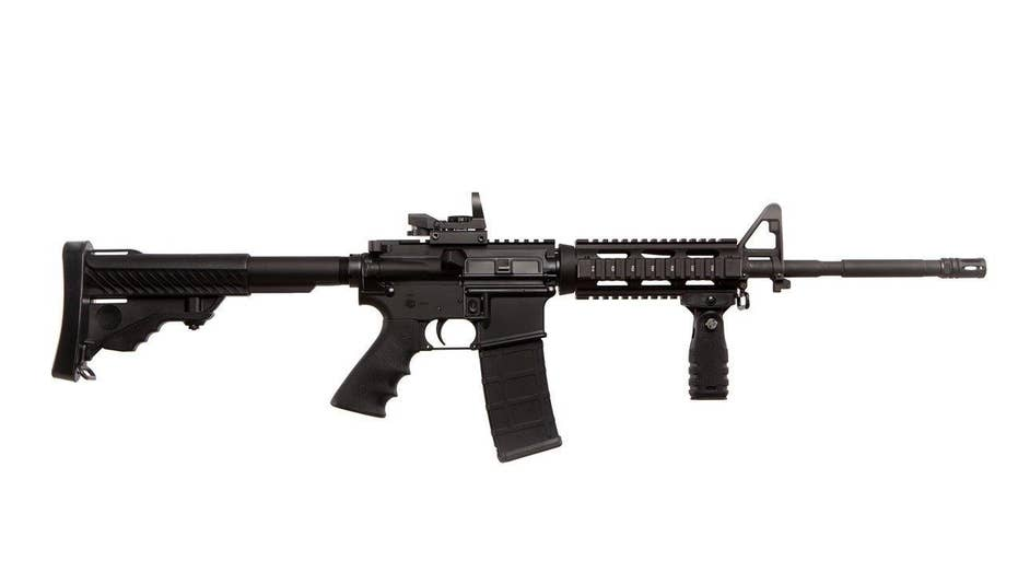 Should assault rifles be given away at campaign fundraisers?