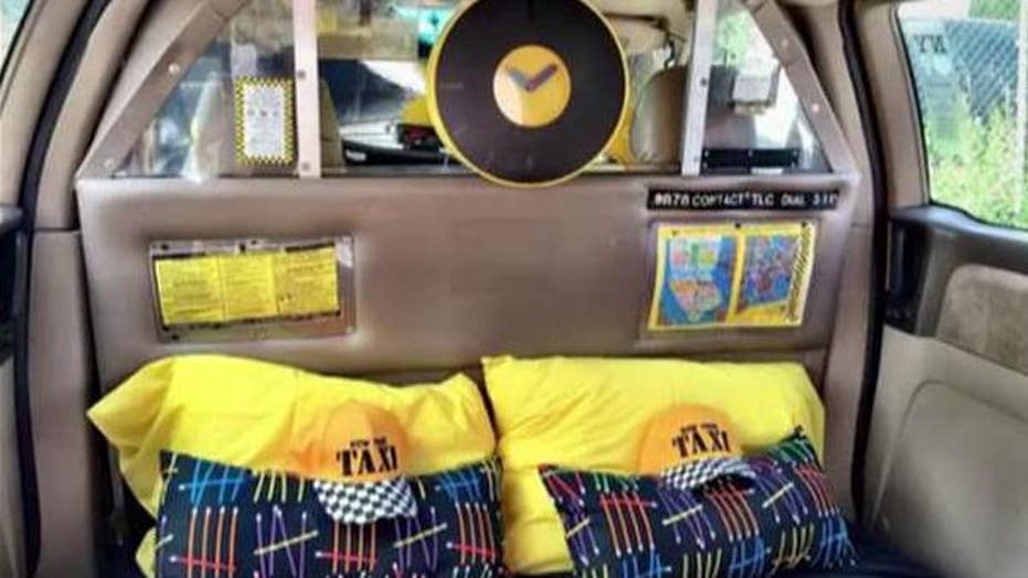 AirBnB offering NYC taxi as hotel room