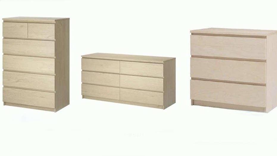 Ikea recalls 29 million dressers after kids die