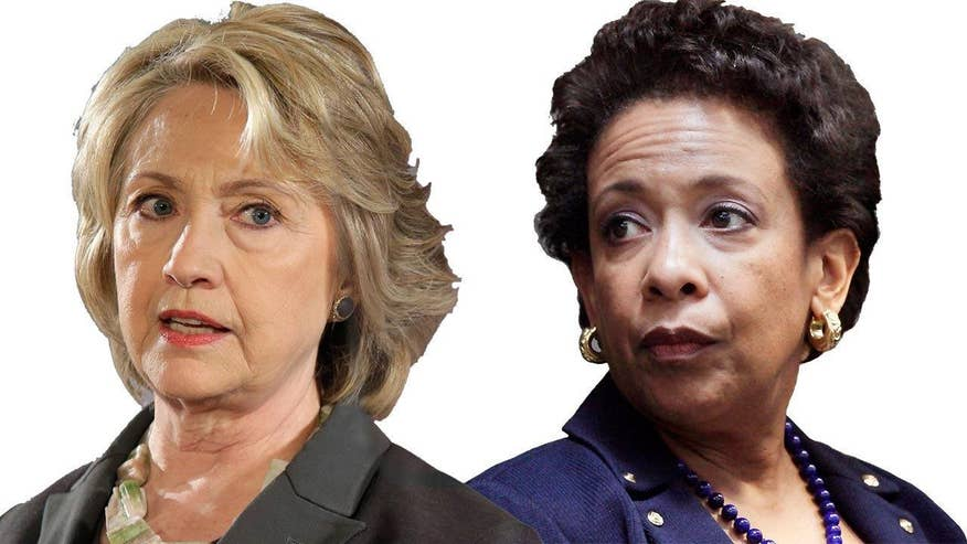 Questions arise after Attorney General Loretta Lynch's private meeting with Bill Clinton