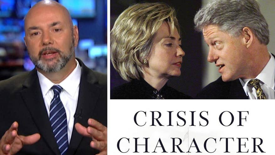 Gary Byrne goes on 'The Kelly File' to defend the allegations he makes against the Clintons in new book 'Crisis of Character'