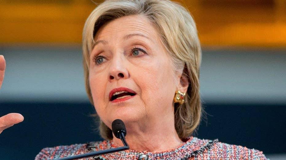 Hillary Clinton makes economic pitch, takes aim at Trump