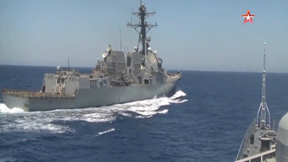 Russia, US blame each other for dangerous naval maneuvers