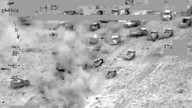 Major airstrike on ISIS convoy kills at least 250 militants