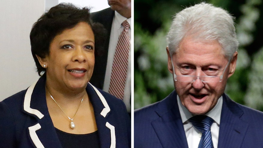 Calls grow for Lynch to recuse herself from the Hillary Clinton email investigation following meeting with the former president