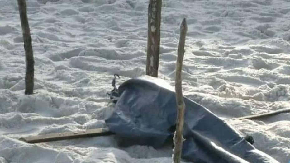 Report: Human body parts wash up on Rio beach