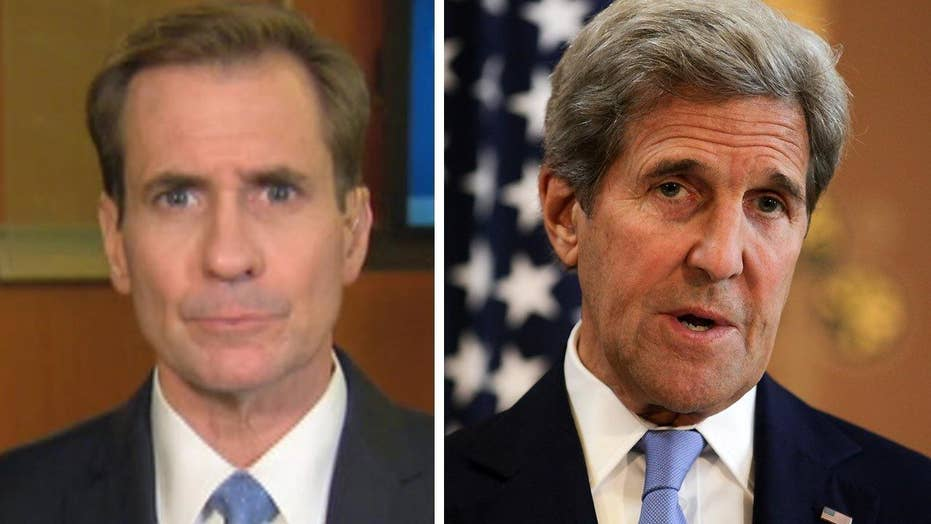Kirby: Kerry absolutely correct about ISIS being desperate
