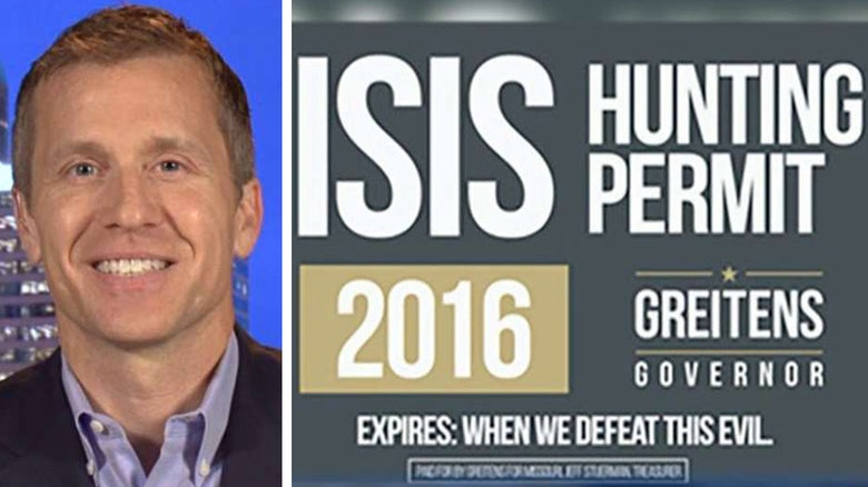 Ex seal gov candidate is raising money with 39 isis for Mo fishing license
