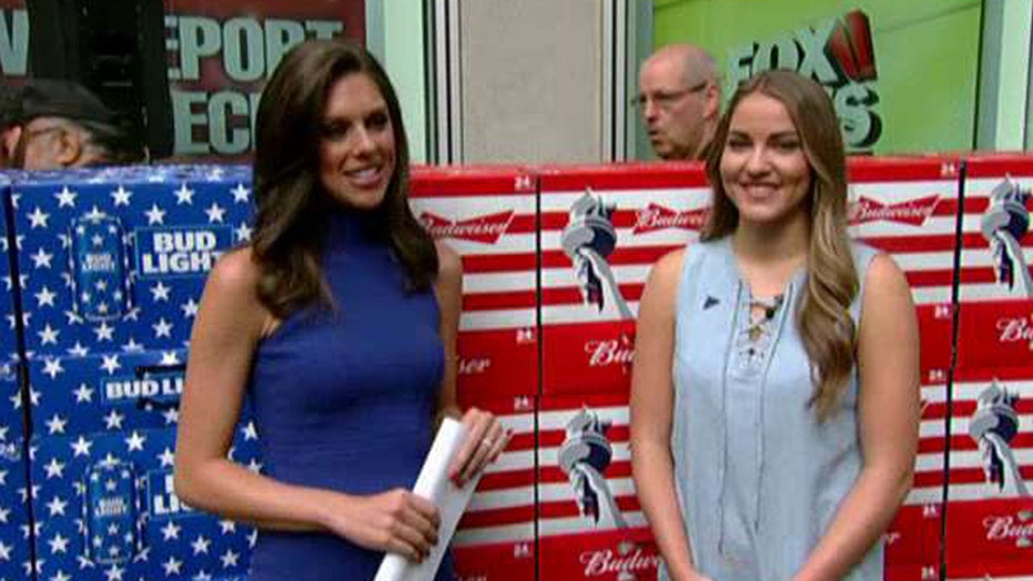 Budweiser uses 'America' cans to help US military families
