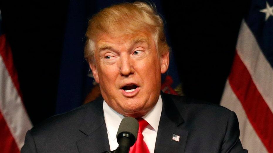 Trump campaign talks GOP pledge breakers, VP rumors