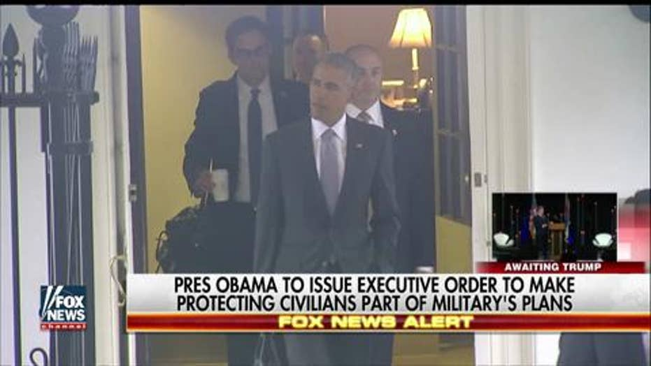 Executive order expected to protect civilians during US ops