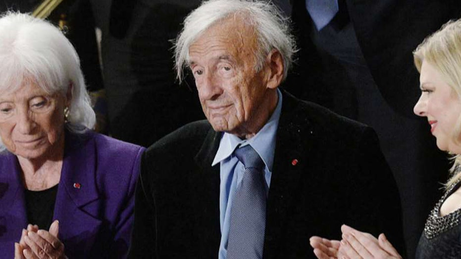 Holocaust survivor and Nobel laureate Elie Wiesel dead at 87