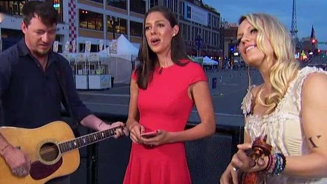 Abby Huntsman performs song written with American Young