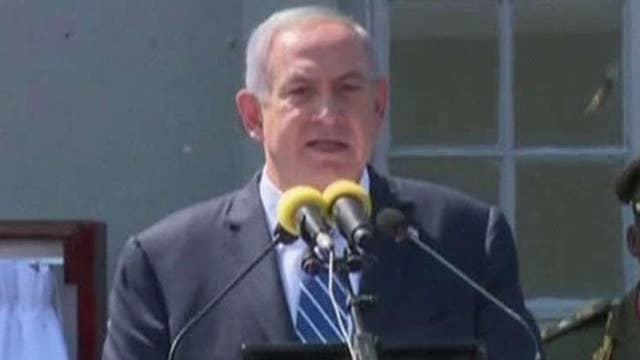 Benjamin Netanyahu visits Entebbe to mark 40 years