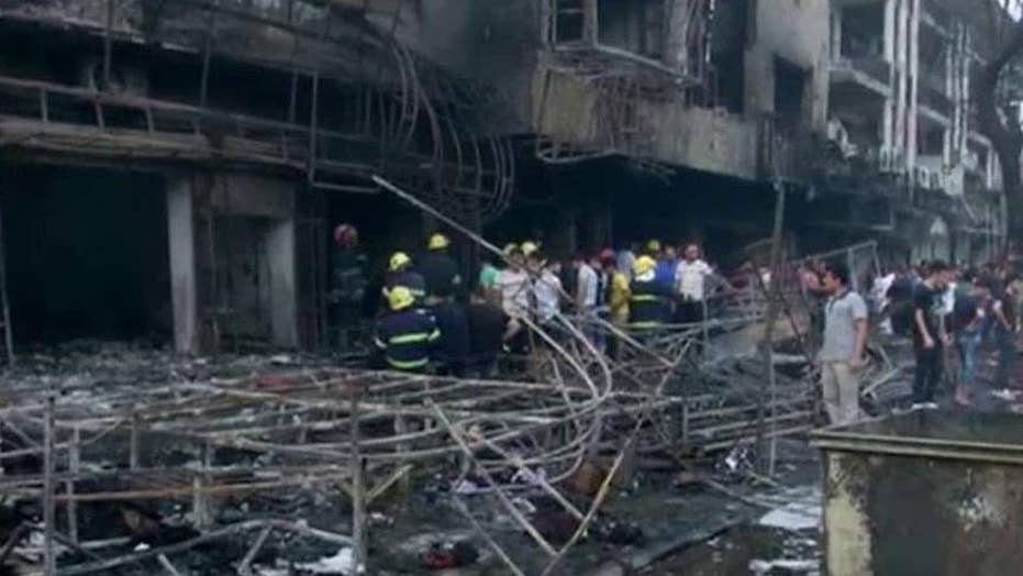 Suicide truck bomber kills over 100 in Iraq