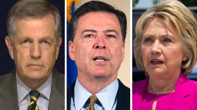 Hume: Comey's statement blew up Clinton's network of lies