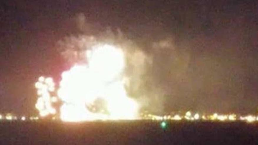 Fire broke out onboard barge during Plymouth, Massachusetts' fireworks celebration