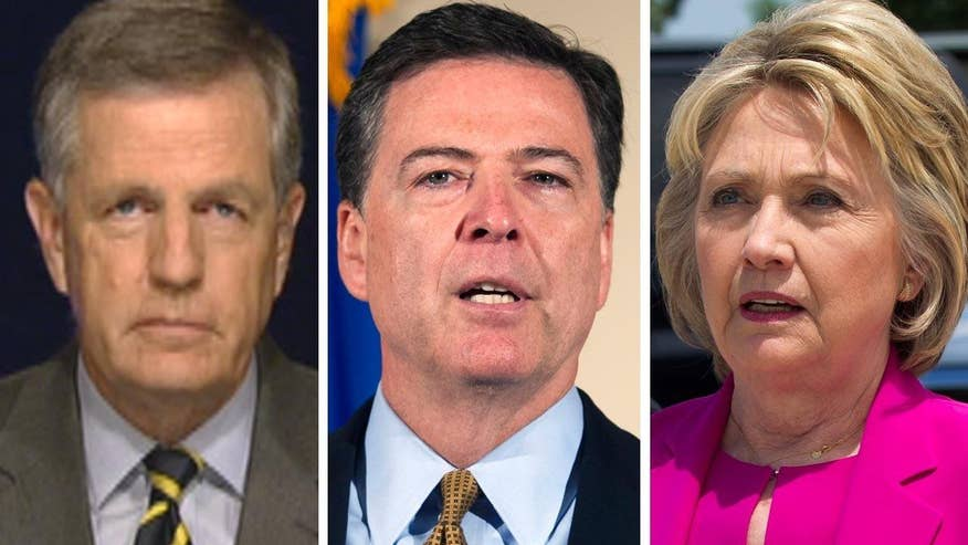 FBI director recommends no charges for the former secretary of state; senior political analyst sounds off on 'The Kelly File'