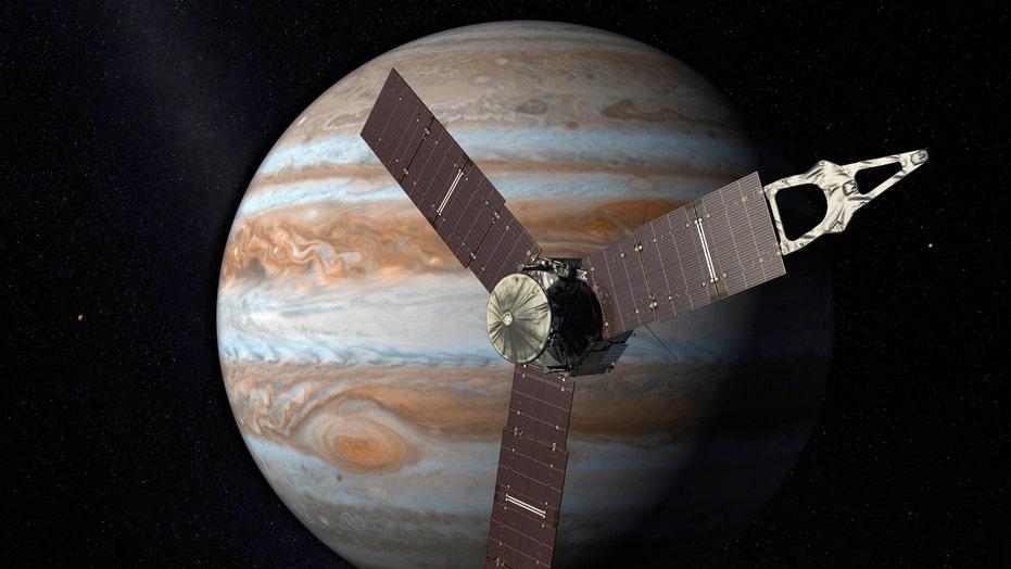 NASA's Juno probe enters orbit around Jupiter