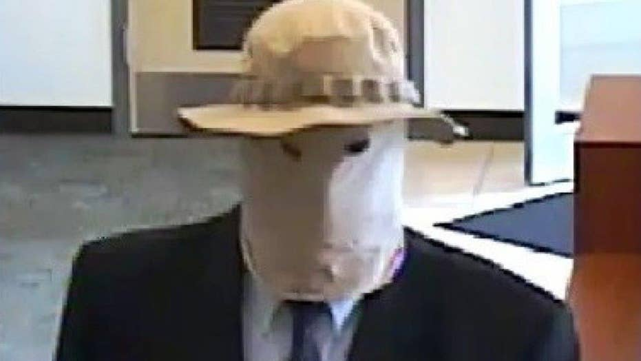 Cops hunt 'Straw Hat Bandit' linked to 10 bank robberies
