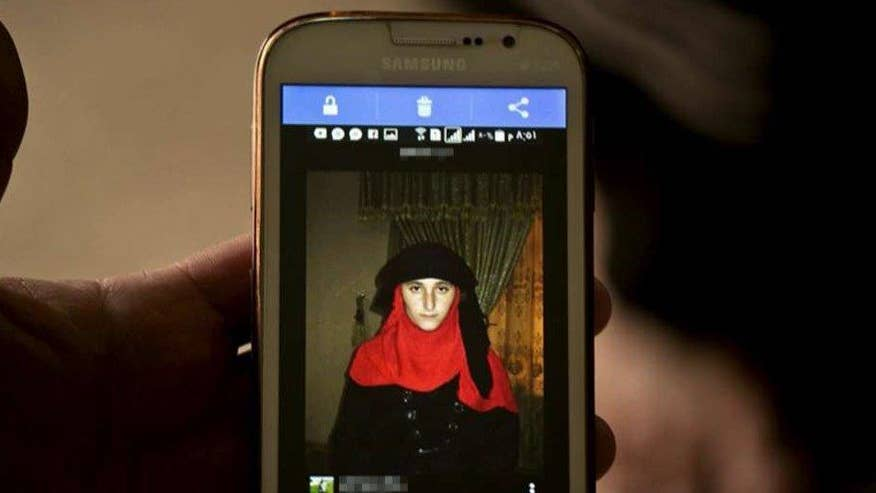 Terrorists using smartphone apps to sell women, children