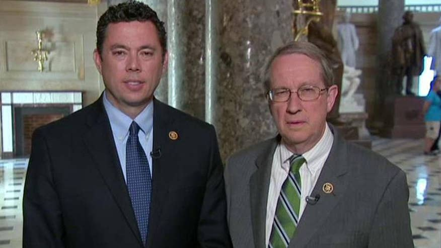Rep. Jason Chaffetz and Rep. Bob Goodlatte discuss questions they plan to ask FBI Director James Comey and Attorney General Loretta Lynch; Reaction on 'Hannity'