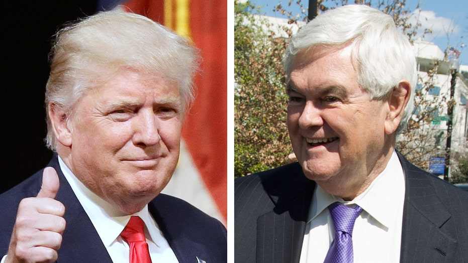 Gingrich to join Trump on the campaign trail in Ohio