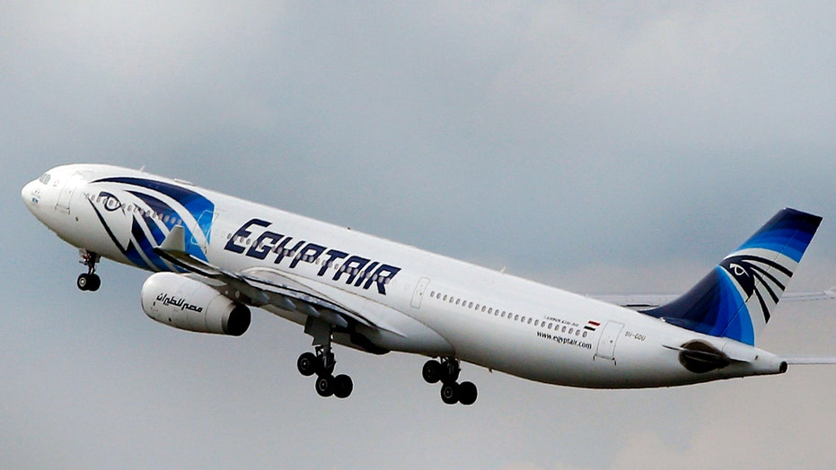 Report: Pilots tried to extinguish fire on EgyptAir jet