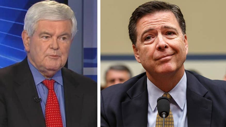 Former House Speaker goes 'On the Record' on FBI director's testimony before House Oversight committee on his decision not to recommend charges for Clinton in email scandal and Trump VP rumors