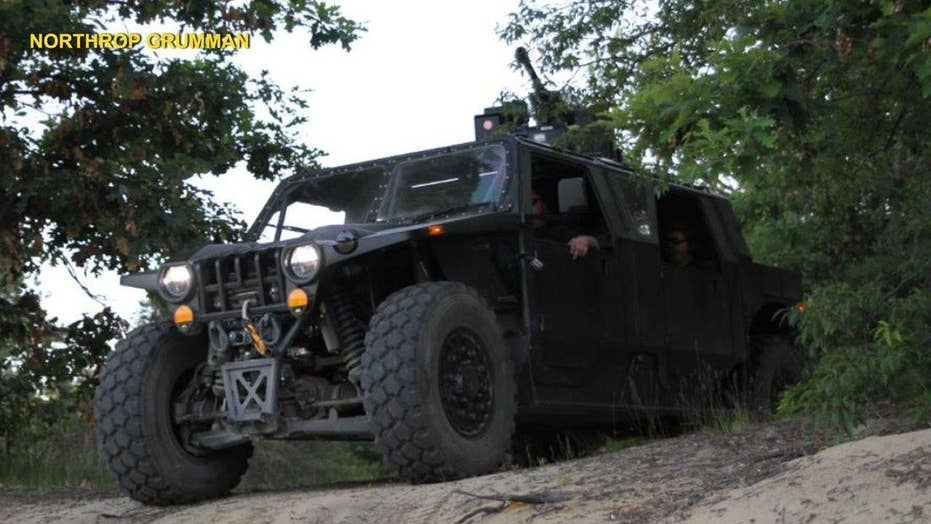 Hellhound recon vehicle looks like a tank, acts like an ATV