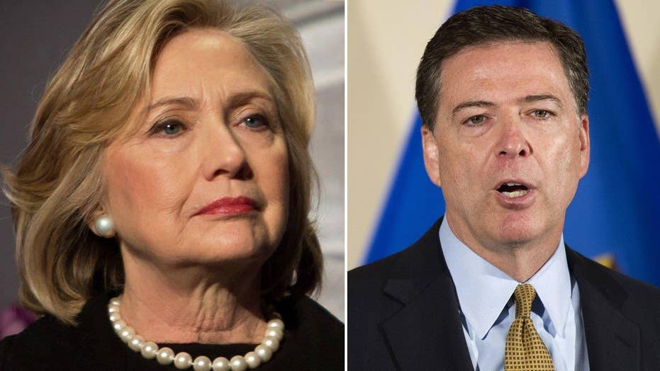 What did Comey's testimony reveal about Clinton probe?