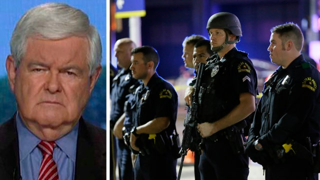 Newt Gingrich: Dallas attack is a wakeup call