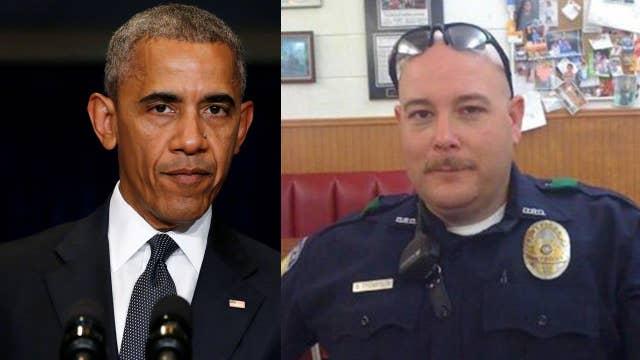 Obama politicizes Dallas police murders