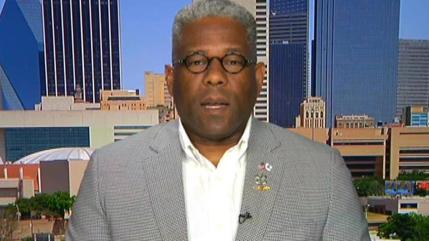 Former congressman Allen West was with Dallas police as they prepared for protests on Thursday. He goes 'On the Record' with his thoughts on what was behind the deadly ambush