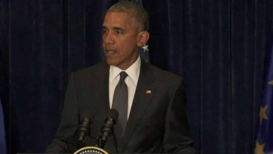 Obama comments on Dallas police tragedy