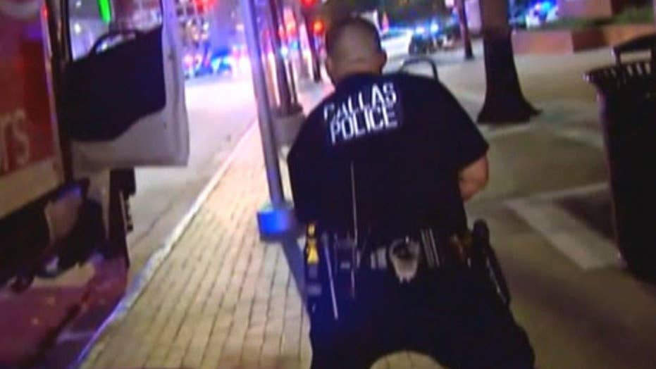 'Get down! Get back!': Gunfire erupts in downtown Dallas