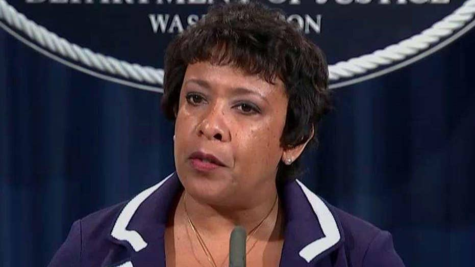 AG Lynch: Action must be the answer, not violence