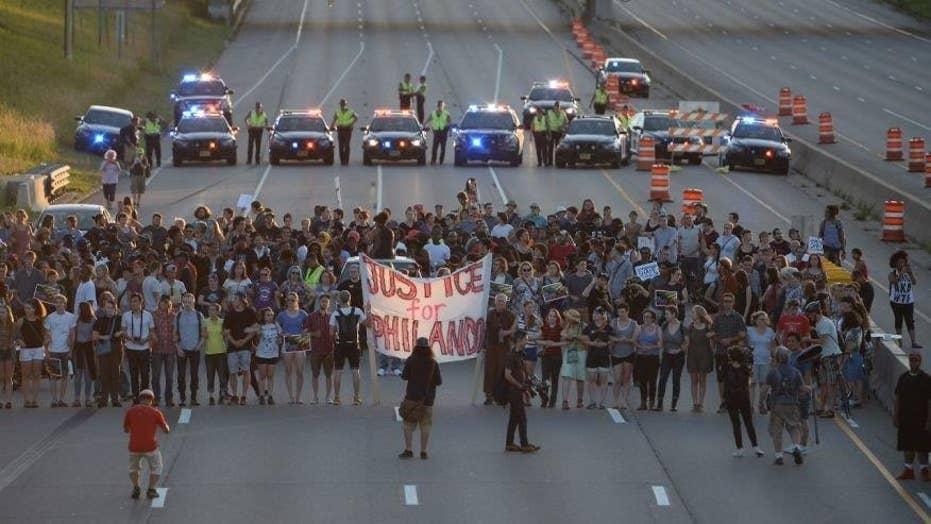 Violent protests erupt in Minnesota