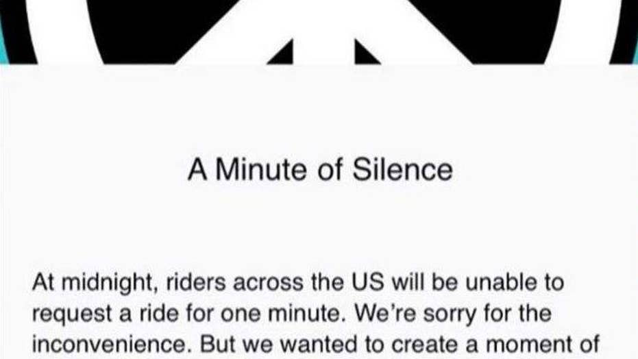 UBER pauses app to reflect on gun violence