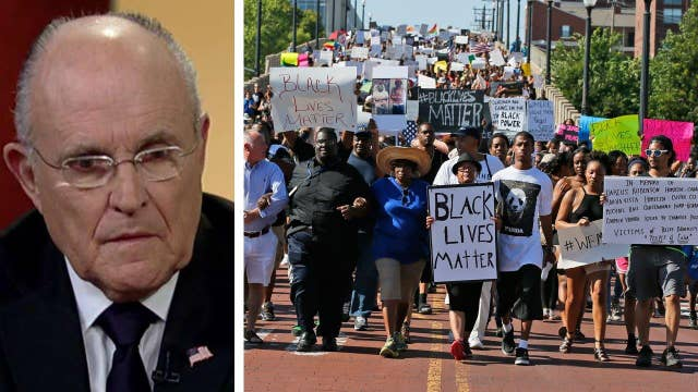 Giuliani: Black Lives Matter is inherently racist
