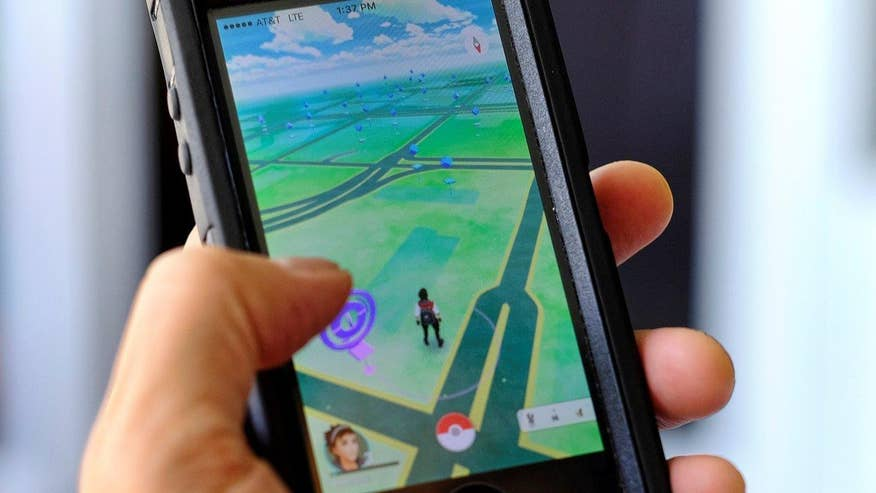 A group of teenagers used the games 'lure' feature to bait other players, robbed them