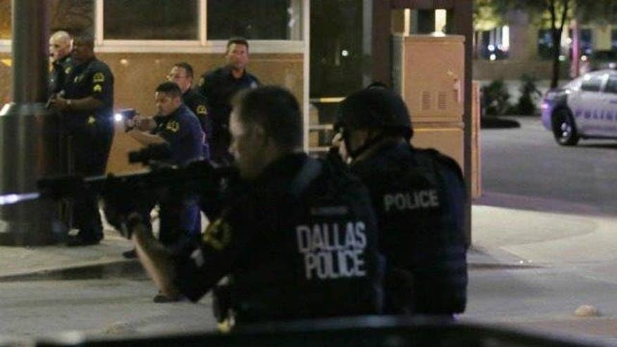 Is there too much pressure being put on law enforcement, especially with shrinking resources and support? The president of the Dallas Police Association, Ron Pinkston, goes 'On the Record'