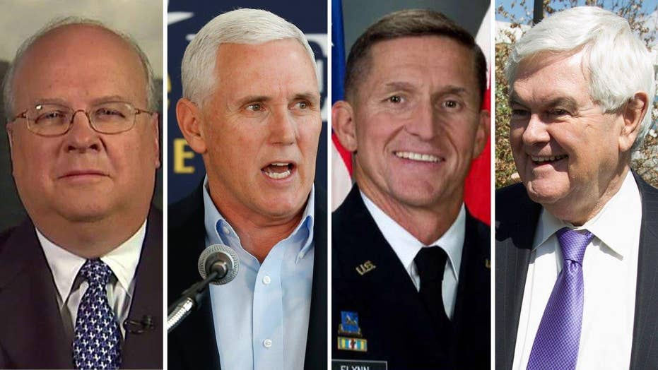 Karl Rove breaks down Trump's VP short list